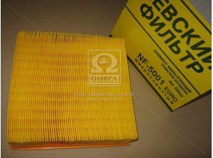 Элемент фильт. возд. ВАЗ 2108-10, 2112 (инжект. сетка, коробка) (NF-5001m) (пр-во Невский фильтр) 2112-1109080