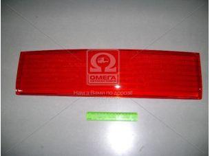 Накладка (катафот) крышки багажн. между фонарями красн. ВАЗ 2110 (пр-во ДААЗ) 21100-821252600