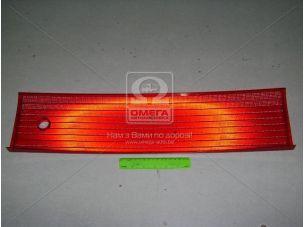 Накладка (катафот) крышки багажн. между фонарями красн. ВАЗ 2112 (пр-во ДААЗ) 21120-821252600