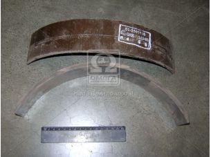 Накладка торм. ГАЗ 51,52,53 передн. длин. (пр-во УралАТИ) 51-3501105