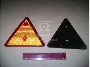 Отражатель-треугольник (катафот) красный (пр-во Украина) ФП-401Б
