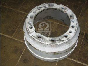 Барабан тормозной МАЗ (дисковые колеса) 10 шпилек (пр-во Беларусь) 64221-3502070