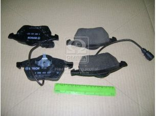 Колодка торм. диск. AUDI 100 (44, 44Q, C3, 4A, C4) передн. (пр-во Bosch) 0 986 460 937