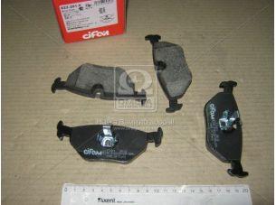 Колодка тормозная BMW 3 (E46) задн. (пр-во Cifam) 822-261-0