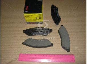 Колодка тормозная CHEVROLET EPICA, EVANDA 2.0, 2.5 задн. (пр-во Bosch) 0 986 494 172