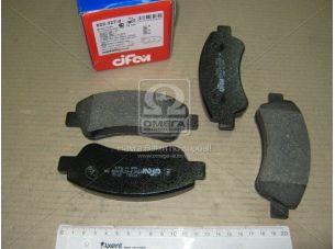 Колодка тормозная CITROEN C4, PEUGEOT PARTNER передн. (пр-во Cifam) 822-327-0