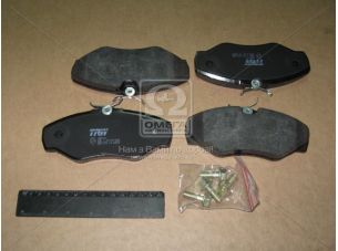 Колодка тормозная FIAT DUCATO передн. (пр-во TRW) GDB1478