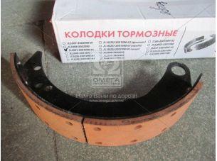 Колодка тормозная ГАЗ 3307,3309,4301 перед. с накл. (покупн. ГАЗ) 4301-3501090