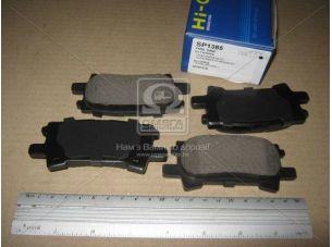 Колодка тормозная LEXUS RX 03- задн. (пр-во SANGSIN) SP1385