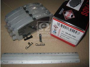 Колодка тормозная LEXUS RX (пр-во ASHIKA) 50-02-209