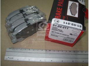 Колодка тормозная LEXUS RX (пр-во ASHIKA) 51-02-211