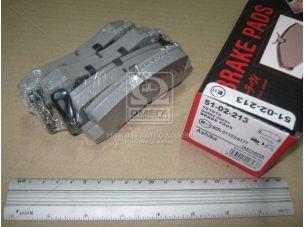 Колодка тормозная LEXUS RX (пр-во ASHIKA) 51-02-213