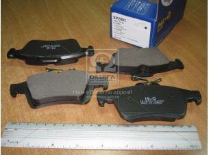 Колодка тормозная MAZDA 3, 5 05- задн. (пр-во SANGSIN) SP2091