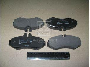 Колодка торм. диск. MB VITO (638) передн. (пр-во Bosch) 0 986 494 013