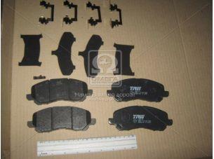 Колодка тормозная MITSUBISHI OUTLANDER передн. (пр-во TRW) GDB4142