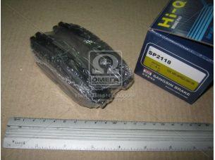 Колодка тормозная SUBARU FORESTER 09- задн. (пр-во SANGSIN) SP2118