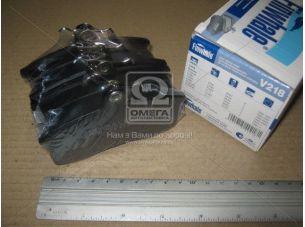 Колодка тормозная ВАЗ 2108-21099, ИЖ 2126,2717 перед. (компл. 4шт.) V218 (пр-во FINWHALE) 2108-3501080
