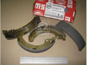 Колодка тормозная ВАЗ 2108 задн. (компл. 4 шт) для бараб. торм. (пр-во MASTER SPORT) 2108-3502090