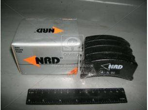Колодка тормозная ЗАЗ 1102 перед. (компл. 4шт.) (NRD) 1102-3501090/91