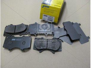 Колодки дискового тормоза (пр-во Jurid) 572515J