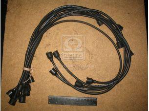 Провод зажигания ГАЗ 53 силикон черн. 9шт. (пр-во Украина) 53-3707078-02