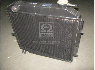 Радиатор вод. охлажд. М 412 (2-х рядн.) (пр-во г. Бишкек) 158.1301010-01