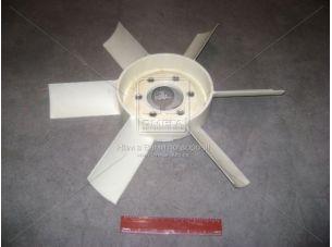 Вентилятор системы охлаждения Д 243,245 пластиковый 6 лопаст. (пр-во Радиоволна) 245-1308010-А
