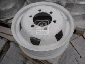 Диск колесный 16Н2х5,5J ГАЗ 3302 (квадр. отв.) (пр-во КрКЗ) 14.3101011.03
