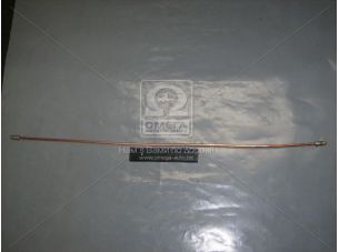 Трубка тормозная ГАЗ 3302,2705 (медь) (задн. разводка левая) L=735, М10х1,25 3302-3506065-01