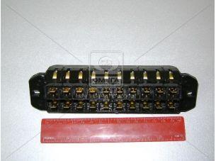 Блок предохранителей ГАЗ 3221,2705,3307,3309 без крышки (10 пр.) (покупн. ГАЗ) 121-3722000-02