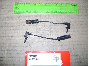 Датчик износа колодок торм. MB 190 (W201) (компл. 2шт) передн. (пр-во TRW) GIC164