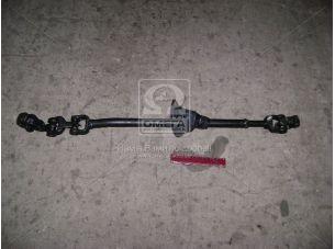 Вал рулевого управления ГАЗ 33104 ВАЛДАЙ карданный в сборе (пр-во ГАЗ) 33104-3401042