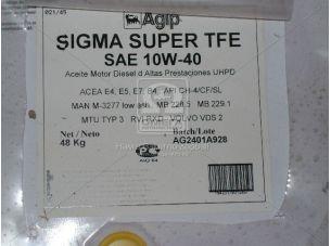 Масло моторн. AGIP Sigma Super TFE 10W/40 API CI-4/SL (Бочка 55л) 10W/40 CI-4/CF/SL
