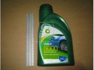 Масло моторн. BP Visco 5000 5W-40 API SL/CF (Канистра 1л) RB-V5540-12X1L