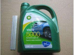 Масло моторн. BP Visco 5000 5W-40 API SL/CF (Канистра 4л) RB-V5540-4X4L
