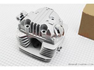 Головка цилиндра в сборе CB-125cc полный к-кт