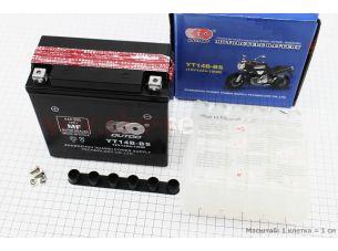 Аккумулятор 12Аh YT14В-BS кислотный (L150*W70*H145mm), 2020
