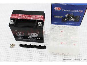 Аккумулятор 12Аh UTX14L-BS кислотный (L150*W87*H150mm), 2020