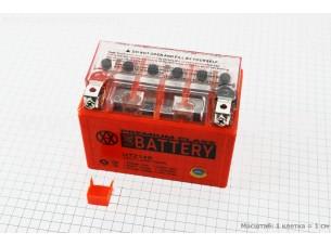 Аккумулятор 11,2Аh UTZ14S гелевый (L150*W87*H110mm), 2020