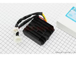 Реле-регулятор напряжения 5 проводов CG200/ZUBR
