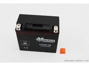 Аккумулятор 18Аh YTX20L-BS гелевый (L170*W87*H155mm), 2020