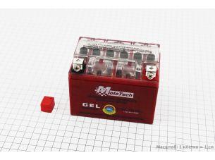 Аккумулятор 4Аh YTX4L-BS гелевый (L113*W70*H85mm), 2020