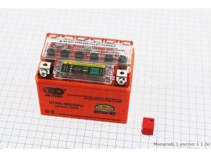 Аккумулятор 4Аh UTX4L-BS гелевый (L113*W70*H85mm), 2020, с ИНДИКАТОРОМ