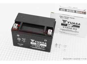 Аккумулятор 9Аh YTX9A-BS (гелевый) 150/85/105мм, 2019