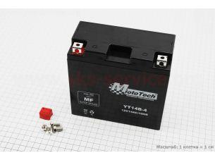 Аккумулятор 12(14)Аh YT14B-4 гелевый (L150*W70*H145mm), 2020
