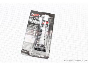 Gasket Maker BLACK- ГЕРМЕТИК силиконовый высокотемпературный черный 100g