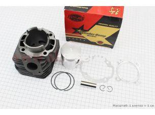 Цилиндр к-кт (цпг) Yamaha BWS100сс-52мм (палец 14мм)