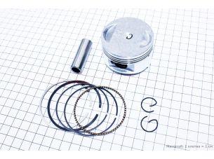 Поршень, кольца, палец к-кт 150cc 57,4мм STD (палец 15мм)