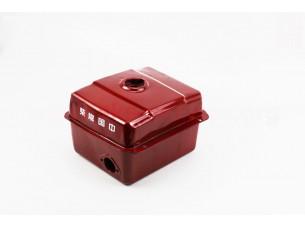 Бак топливный R175A/R180NM, 240x190x160мм, потайная горловина, отверстие под кран топливный, 0 крепления под фару