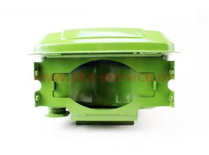 Бак топливный R190N, 270x210x165мм, потайная горловина, отверстие под кран топливный